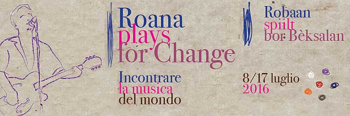 Roana plays for change sito